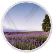 Tasmanian Summer Round Beach Towel