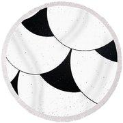 Tate Style Round Beach Towel