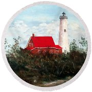 Tawas Round Beach Towel