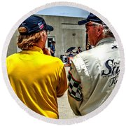 Team Stutz Round Beach Towel