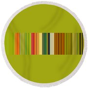 Technicolor Dreams Round Beach Towel