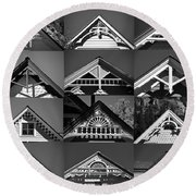 Round Beach Towel featuring the photograph Telluride Classics by David Lee Thompson
