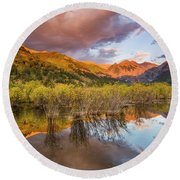 Telluride Valley Floor 2 Round Beach Towel