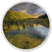 Telluride Valley Floor Round Beach Towel