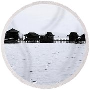 Telsu Round Beach Towel