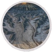 Round Beach Towel featuring the photograph Tendrils  by Dustin LeFevre