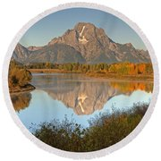 Teton Beauty Round Beach Towel
