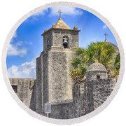 Texas Historic Presidio La Bahia Round Beach Towel