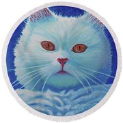 That Cat Round Beach Towel