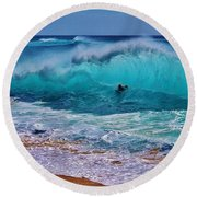 That Moment In Time Round Beach Towel by Craig Wood
