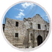 The Alamo Texas Round Beach Towel