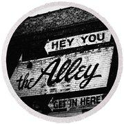 The Alley Chicago Round Beach Towel
