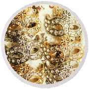 The Antique Jewellery Store Round Beach Towel
