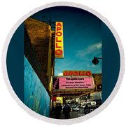 The Apollo Theater Round Beach Towel