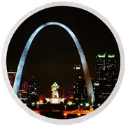 The Arch Round Beach Towel