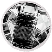 The Art Of Photography Round Beach Towel