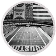 The Astrodome Round Beach Towel