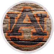 The Auburn Tigers 1a Round Beach Towel