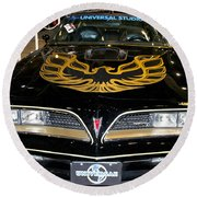 The Bandit Round Beach Towel