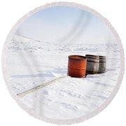 The Barrels Round Beach Towel
