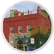 The Baseball Tavern Boston Massachusetts  -30948 Round Beach Towel