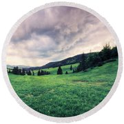 The Basin Round Beach Towel