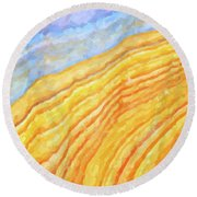 The Beach Round Beach Towel by Tim Gainey