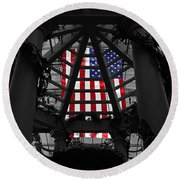 The Beautiful Round Beach Towel