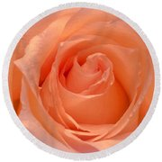 The  Beauty Of A Rose  Copyright Mary Lee Parker 17,  Round Beach Towel by MaryLee Parker