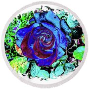 The Beauty Of The Eye Round Beach Towel