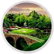 The Beauty Of The Masters 3 Round Beach Towel