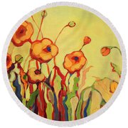 The Beckoning Round Beach Towel