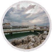 The Bells Round Beach Towel by James Meyer