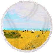 The Bill Round Beach Towel