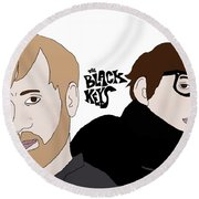 The Black Keys Round Beach Towel