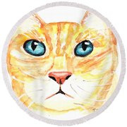 The Boss Round Beach Towel