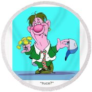 The Bozo Collection 1 Round Beach Towel