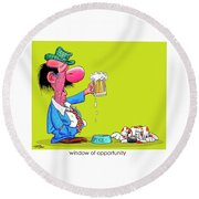 The Bozo Collection 2 Round Beach Towel