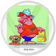 The Bozo Collection 4 Round Beach Towel