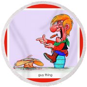 The Bozo Collection 5 Round Beach Towel