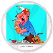 The Bozo Collection 6 Round Beach Towel