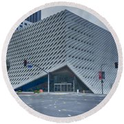 The Broad Museum Round Beach Towel