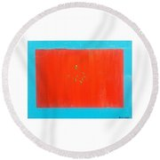 The Candy Store Round Beach Towel