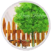 The Ornament Round Beach Towel