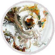 The Circle Of Life Round Beach Towel