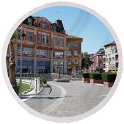 The City Of Seven Hills Round Beach Towel