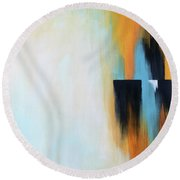 The Clearing 2 Round Beach Towel