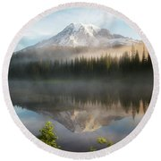 The Clearing Round Beach Towel