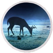 The Cool Of The Night - Square Round Beach Towel