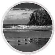 The Coven Round Beach Towel